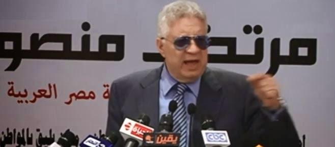 نجاة مرتضى منصور من محاولة لتشويه وجهه بماء نار