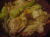 Chinese Noodles and Veggies