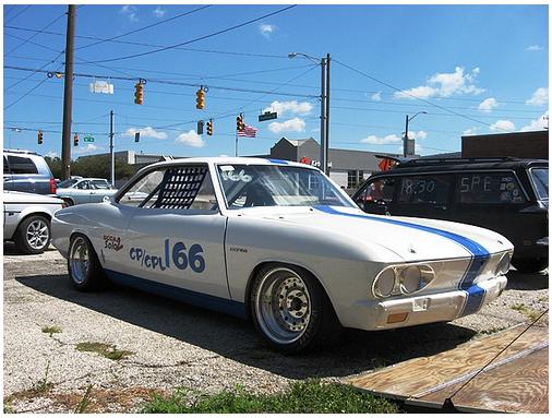 1966 Corvair Yenko Stinger Clone Race Car  Grooshs Garage