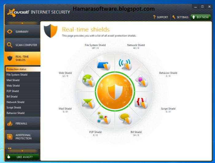 avast internet security license file free download crack