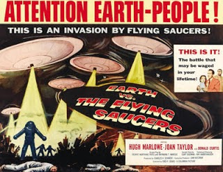 Where Skyhooks got the band name idea from - Fred Sears - Earth vs Flying Saucers