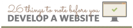 26 Incredible Things to Develop Website : Infographic : eAskme