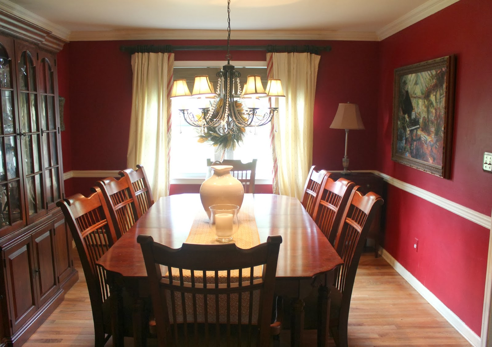 Finalizing Decisions Before Re Decorating The Dining Room