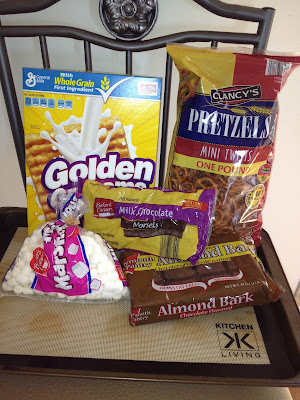 smore pretzel bark ingredients