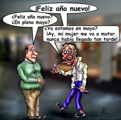 """Humor Gráfico: """"Feliz año nuevo"""""""
