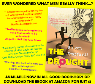 Collection of recent book reviews for The Drought by Steven Scaffardi