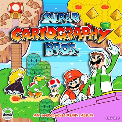 Super Cartography Bros., un nuevo album gratuito de remezclas de los mejores temas de la saga de Nintendo
