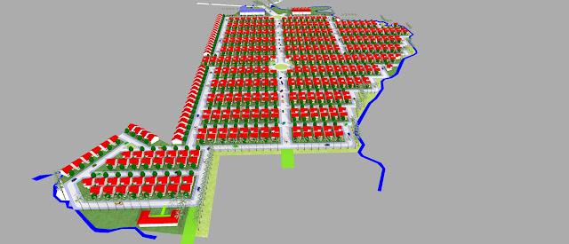 Rencana perumahan