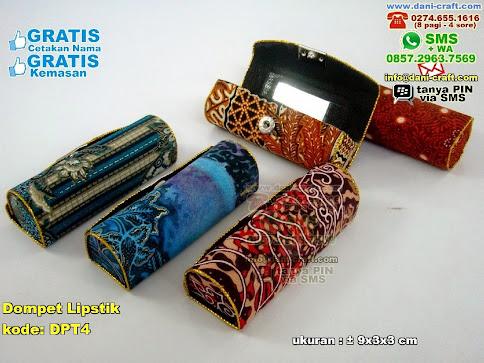 Dompet Lipstik Karton Kain Batik