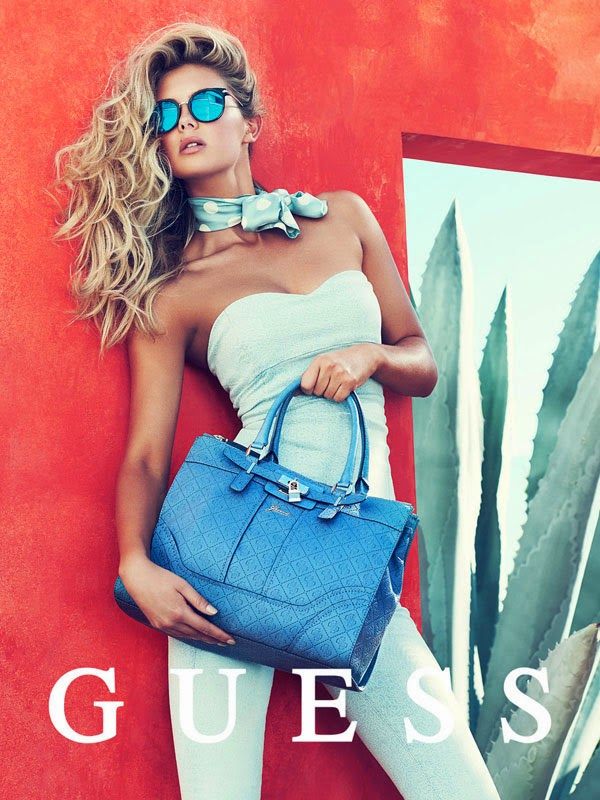 Guess Spring 2014 campaign model Megan Williams photographer Pulmanns