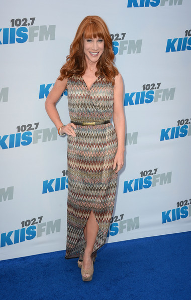 Kathy Griffin Wrap Dress