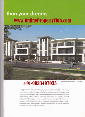 OMAXE-SILVER-BIRCH-G+2-3BHK-FLOORS-IN-NEW-CHANDIGARH-MULLANPUR