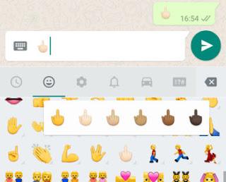 mandare affancul su whatsapp