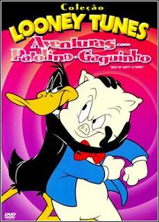 Download - Looney Tunes - Aventuras com Patolino e Gaguinho DVDRip - AVI - Dublado