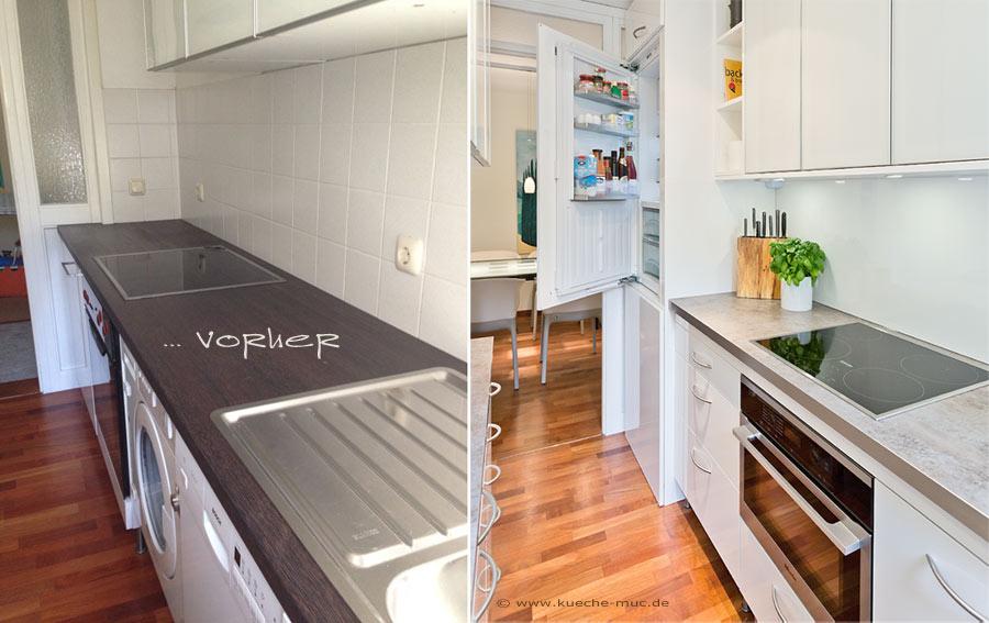 kleine küche umgestalten ideen | möbelideen