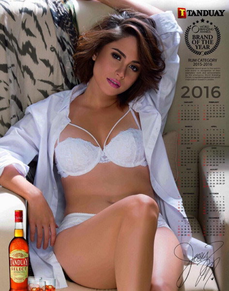 Jessie Mendiola Tanduay girl 5