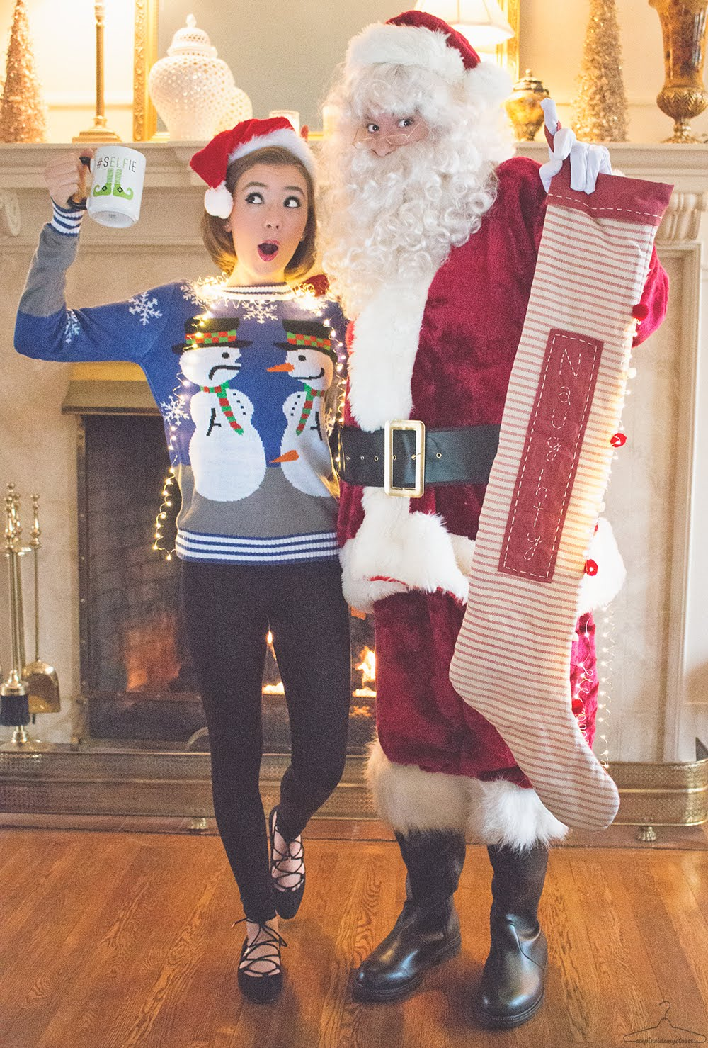 Santa Baby - Step Inside My Closet - H&M, lucky, outfit ideas, The Shopping Bag, Tipsy Elves,