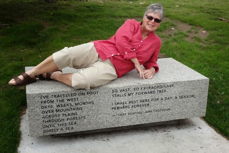 Jane Crossman, poet,