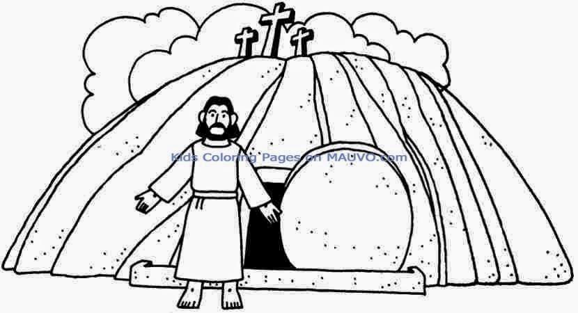 Imagenes de Jesus EN LA TUMBA PARA COLOREAR - Imagui