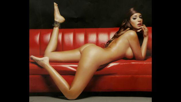 Tilsa al desnudo foto  Playboy conejita