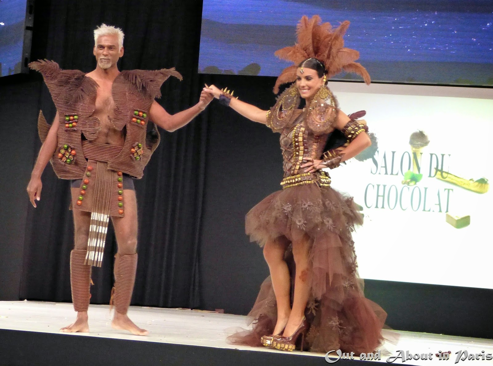 Chocolate Fashion Show at the 20th Annual Salon du Chocolat in Paris!