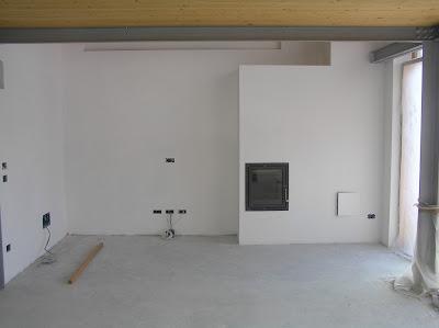 Renovations...in apnoea - Ristrutturazione... in apnea: The fireplace - Il ca...