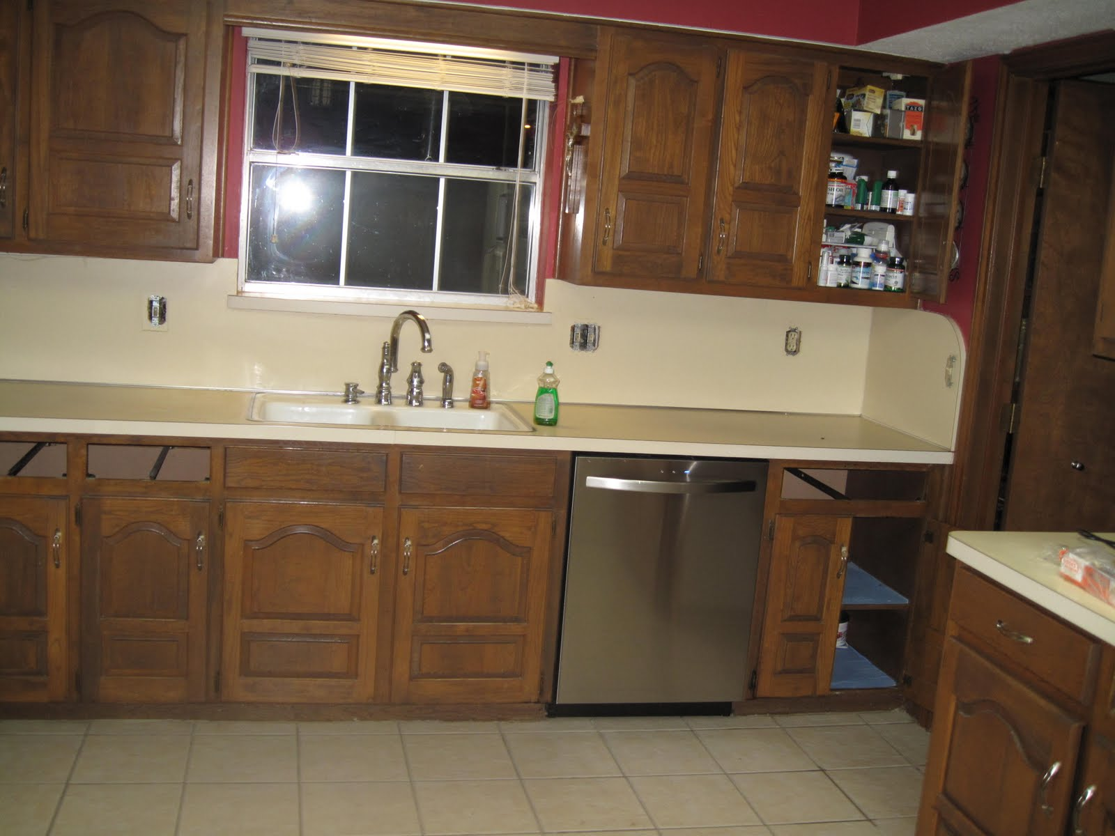 after 21 years of formica countertops and backsplash