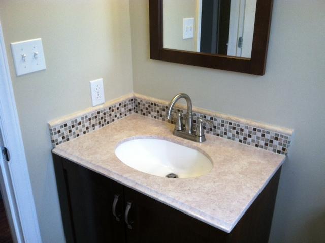 Vanity Side Splash : Bathroom vanity side splash design ideas