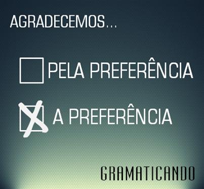 Blog do Gramaticando - sua gramática online!: <b>Agradecemos</b> A <b>...</b> 2014