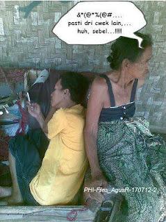nenek cemburu