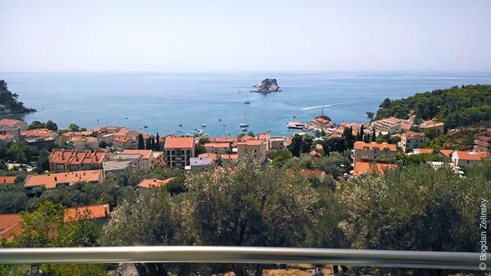 Вигляд з мого балкону в Чорногорії