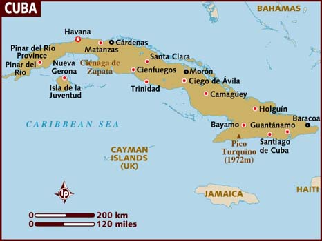 A Cuba In Limbo Cubaninsider - Map of cuba and southeast us