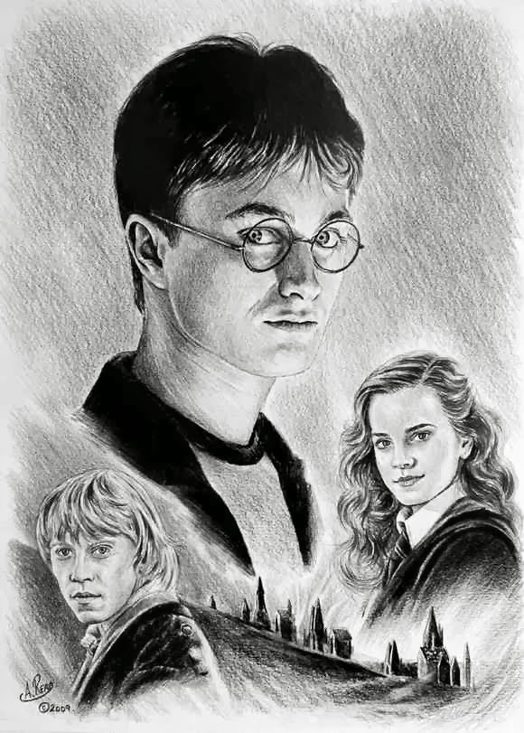 Gambar Pensil Karya Andrew Read