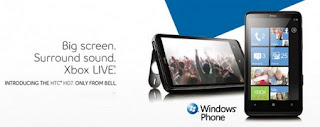 Bell HTC HD7 Windows Phone launched