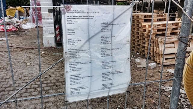 Baustelle Gedenkstätte Berliner Mauer, Bernauer Straße 111, 13355 Berlin, 19.04.2014
