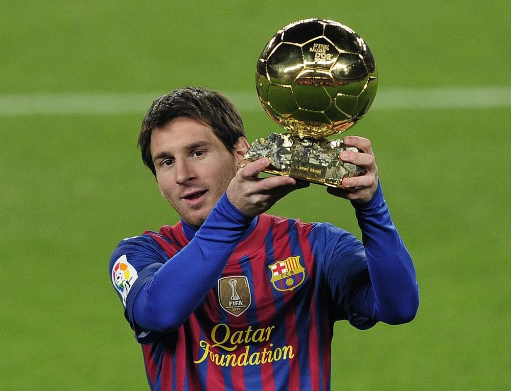 Messi, con el mundo a sus pies