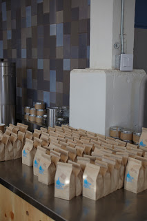 Blue Bottle Coffee at Heath Ceramics