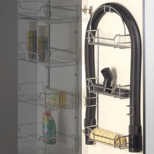 estante accesorios aspirador guardar armario cocina mueble accesorio metálico puerta