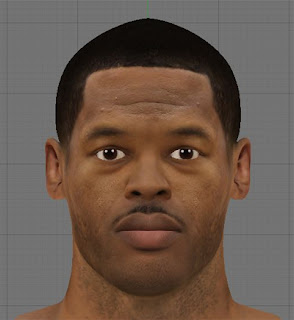NBA 2K13 Marcus Camby Cyber Face Patch