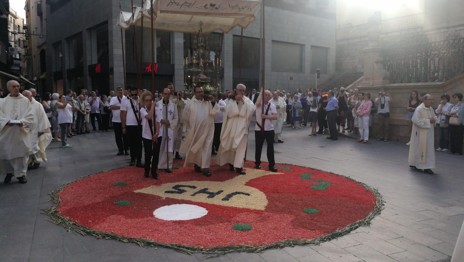 Processó litúrgica, diumenge 23 juny