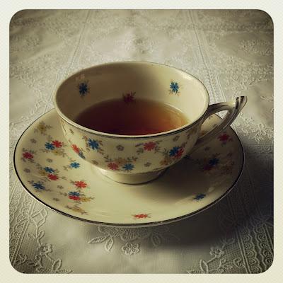 ByHaafner, vintage teacup, thrifted, teatime