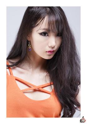 Im Soo Yeon Sexy in Orange