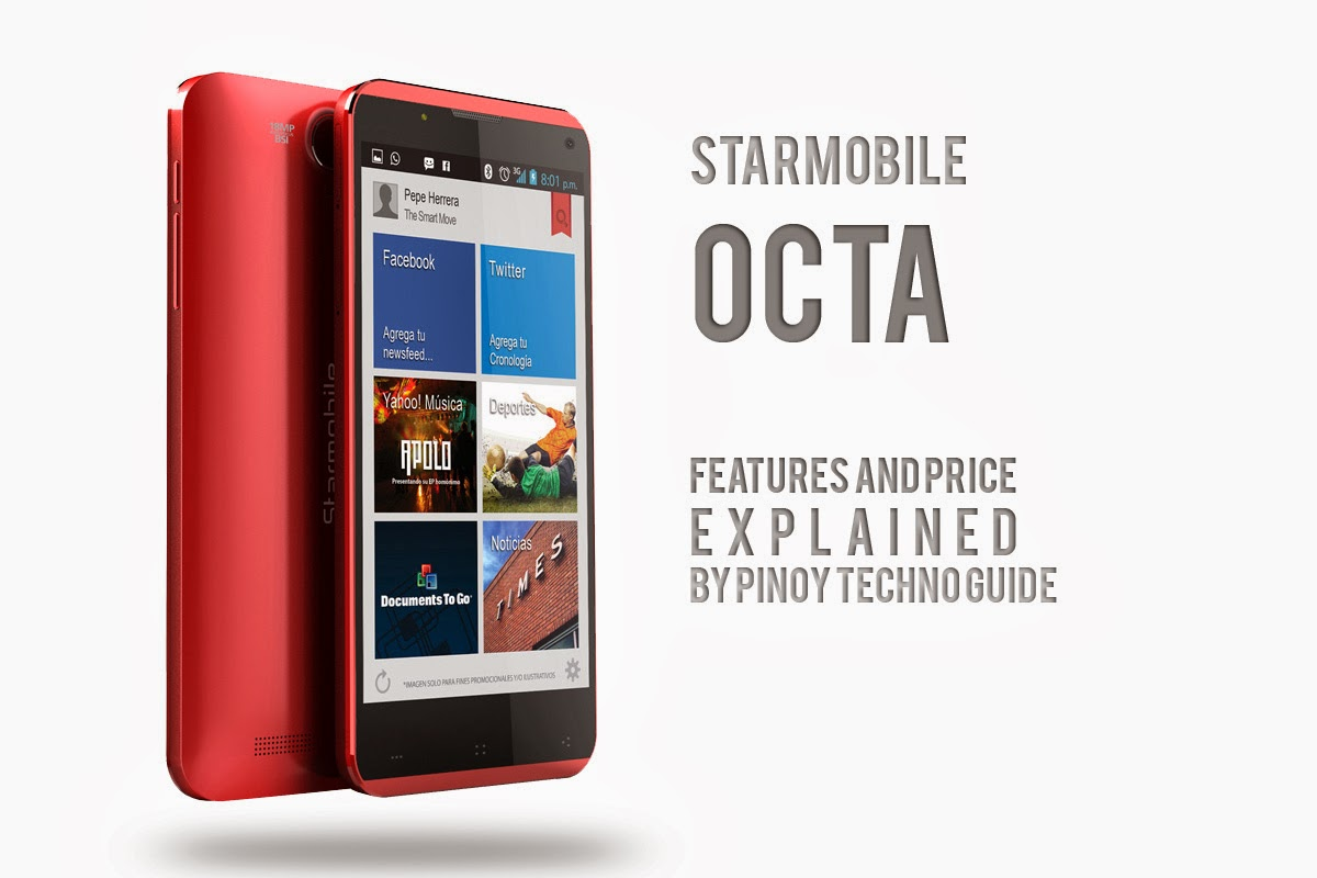 Starmobile Octa Official Photo