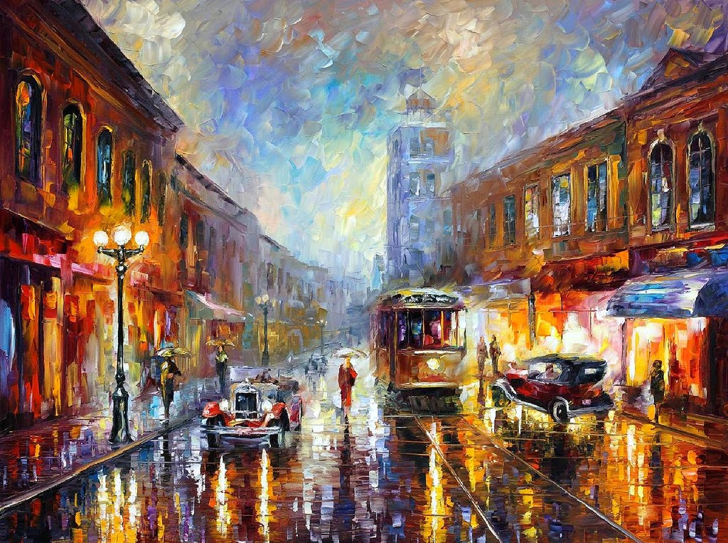 11-Leonid-Afremov-Expression-of-Love-for-the-Art-Of-Painting-www-designstack-co