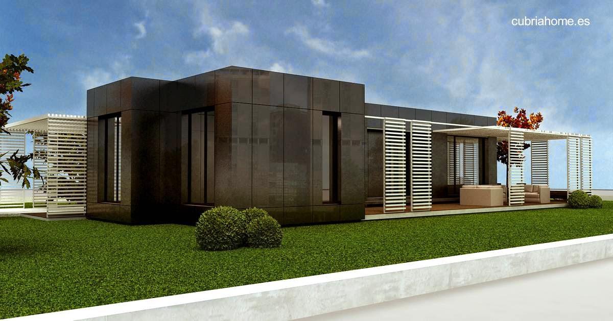 Arquitectura de casas 25 modelos de casas modulares for Casas modulares minimalistas