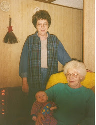 Grandma White, Great Grandma Pearl and Tylor
