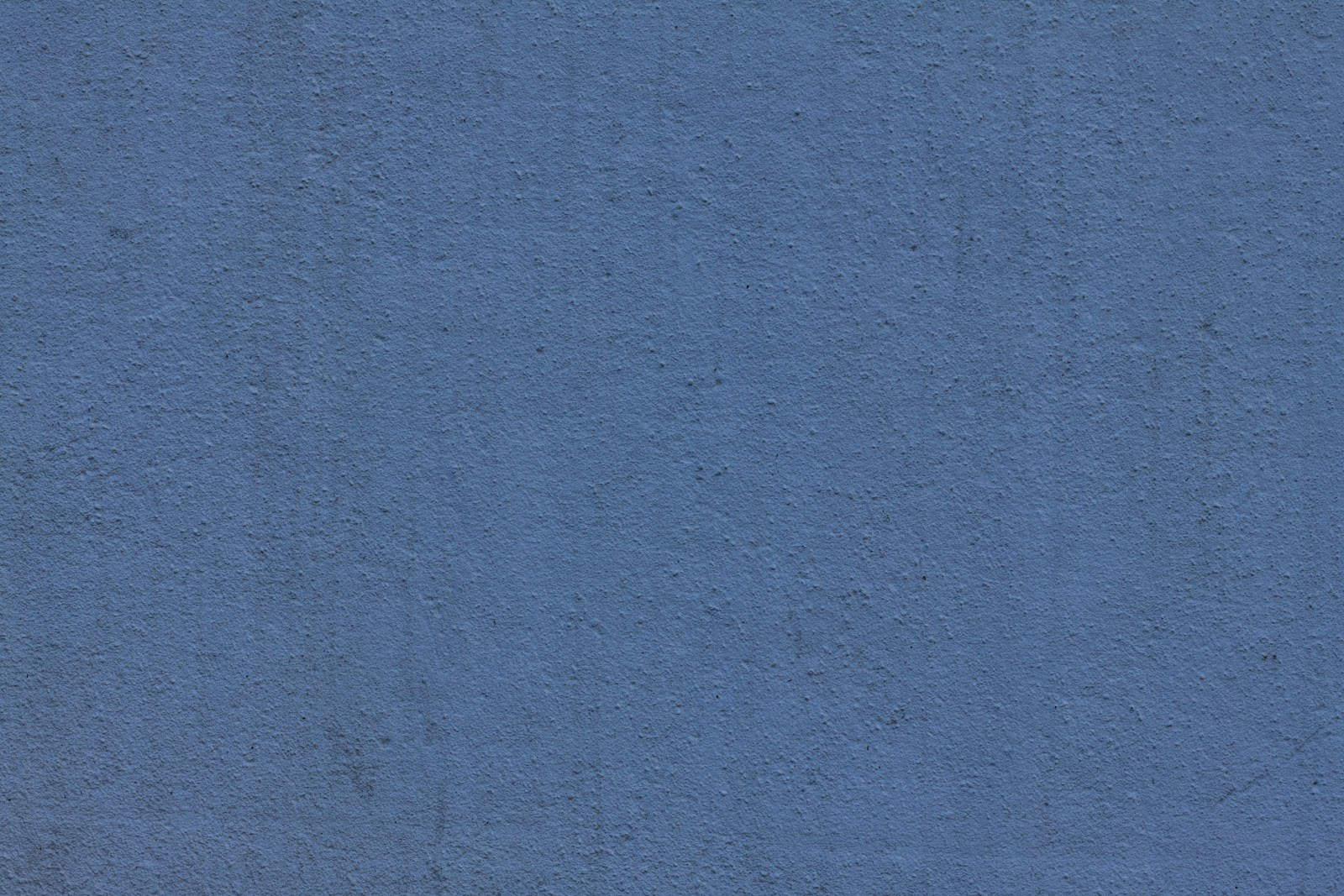 Blue wall plaster texture with dirt streaks