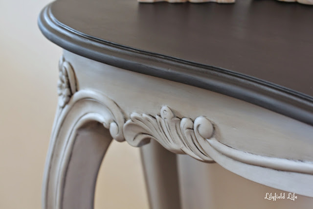 french style hall console tables - hand painted by Lilyfield Life