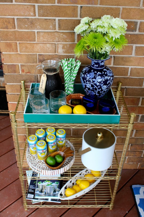 inexpenseive-gold-bar-cart-diy