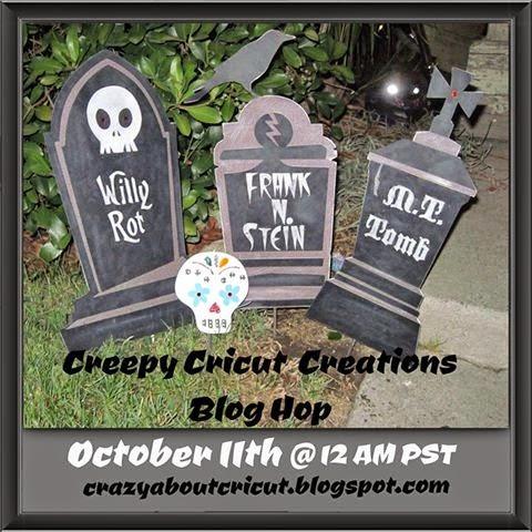 Creepy Cricut Creations Blog Hop